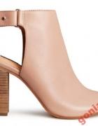 H&M sandały słupek