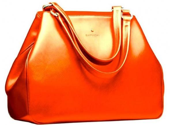 Torebka Batycki w kolorze pomarańczowym...
