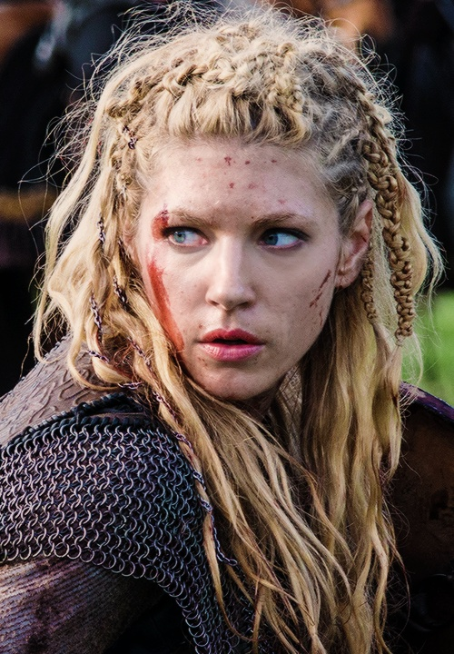 Lagertha style...