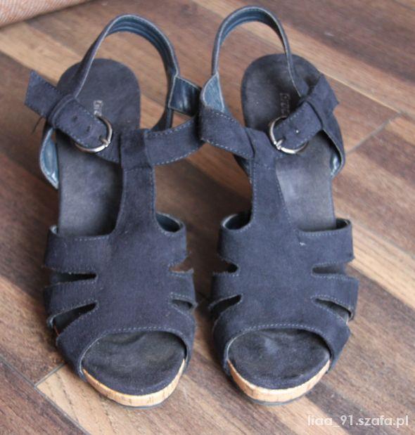 koturny sandały korek 36 deichamnn