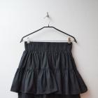 H&M spódnica czarna rozkloszowana na gumie 38