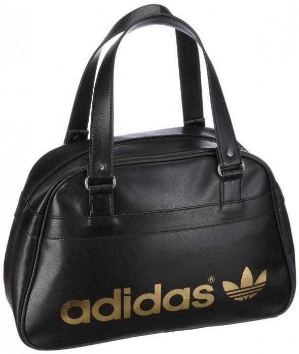 c007132e60a9a Czarna torebka adidas w Torebki na co dzień - Szafa.pl