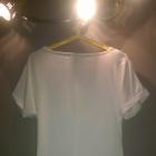 Biała bluzka ze zdobieniami rozmiar XXL