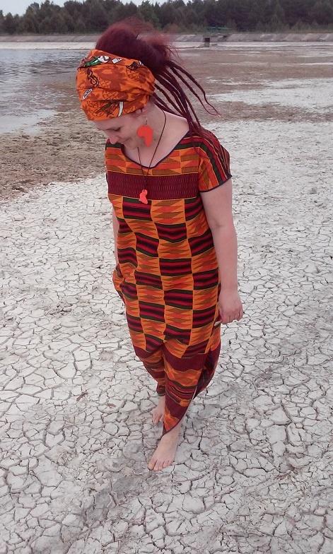 Codzienne Geometryczne kente