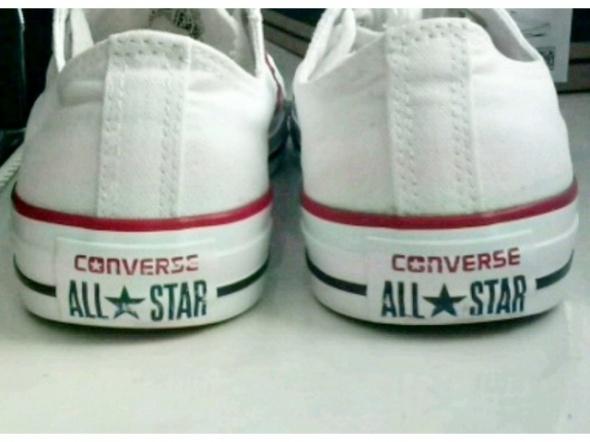 Obuwie Converse białe krótkie 375