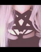 Uprząż z evil passions pentagram