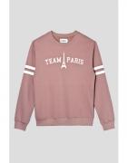 TEAM PARIS SWEATSHIRT IN PINK...