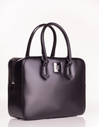 SIMPLE czarna torebka kuferek torba...