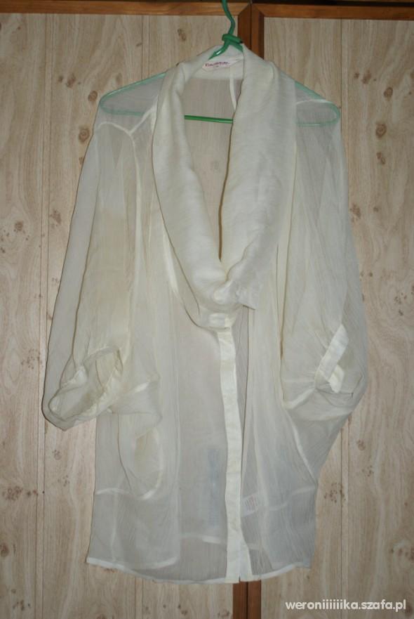 MGIEŁKA MISS SELFRIDGE koszula oversize ecrie