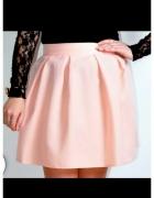 spódniczka koloru pudrowy róż...