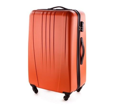 Wittchen pomarańczowa walizka