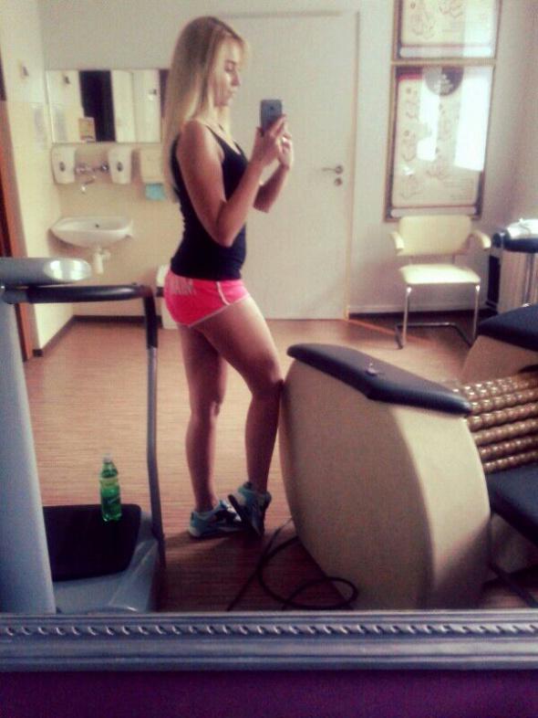 Sportowe fit fit fit