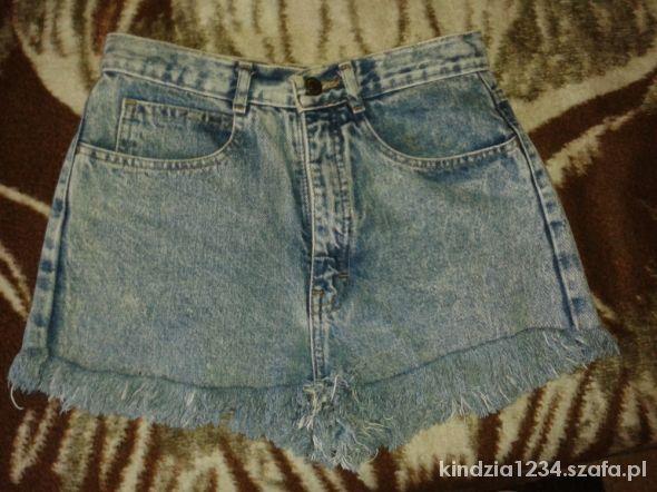 Spodenki Super modne króciutkie jeansowe spodenki