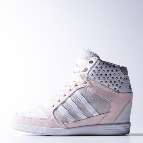 adidas na koturnie szare