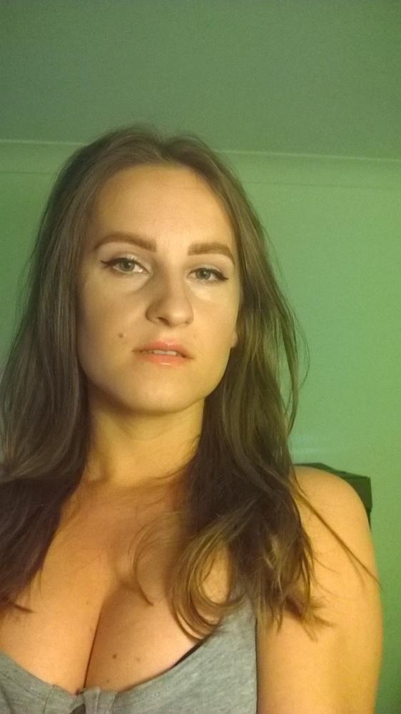 Fryzury próba makijażu