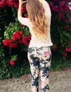 Legginsy Black Roses