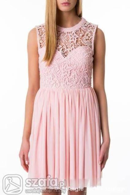 Ubrania Sukienka Tally Weijl 40 lub 42 koronkowa