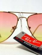 Okulary przeciwsłoneczne aviatorki Ray Ban