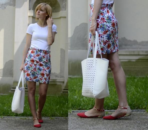 Blogerek Kwiaty handmade