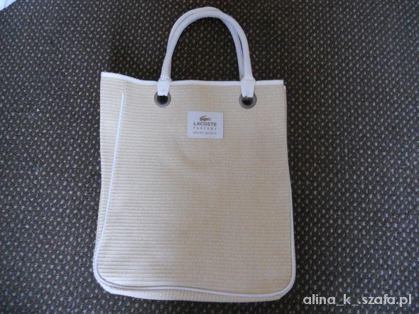 pleciona torba na lato lacoste orginalna