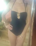 Bikini Reserved czarno złote