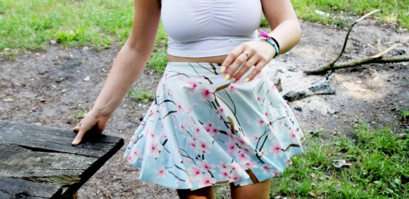 Spódnice przepiękna idealna na lato spódniczka