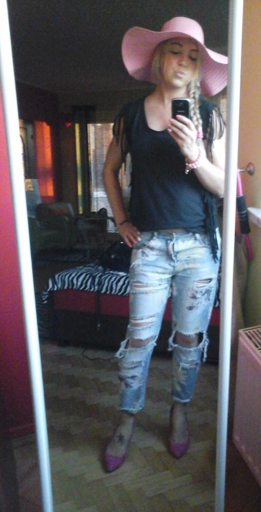 Codzienne na wszystko jeansy