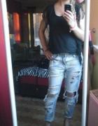 na wszystko jeansy