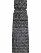 Sukienka H&M długa wzory...