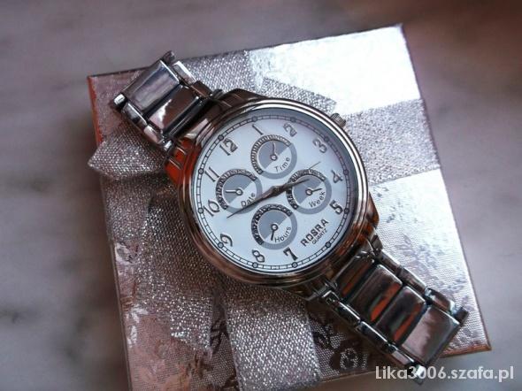Zegarek Na Bransolecie Elegancki Rosra