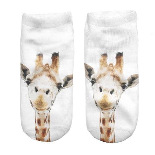 STOPKI 3D SKARPETKI PRINT NADRUK giraphe