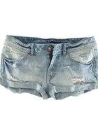 Jeansowe spodenki H&M cena z wysyłką