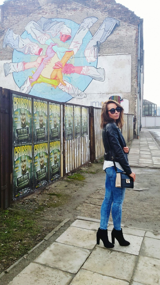 Blogerek Stylizacja w miejskim stylu