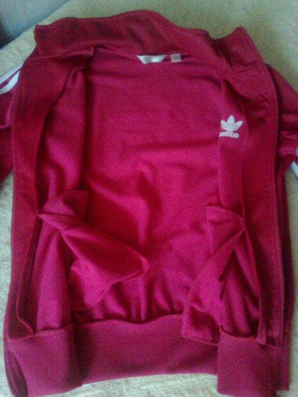 Bluza Adidas malinowa