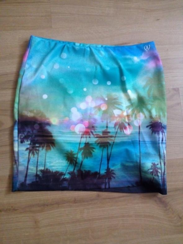 Spódnice Spódniczka w palmy