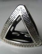 Dwustronna biżuteria do apaszek