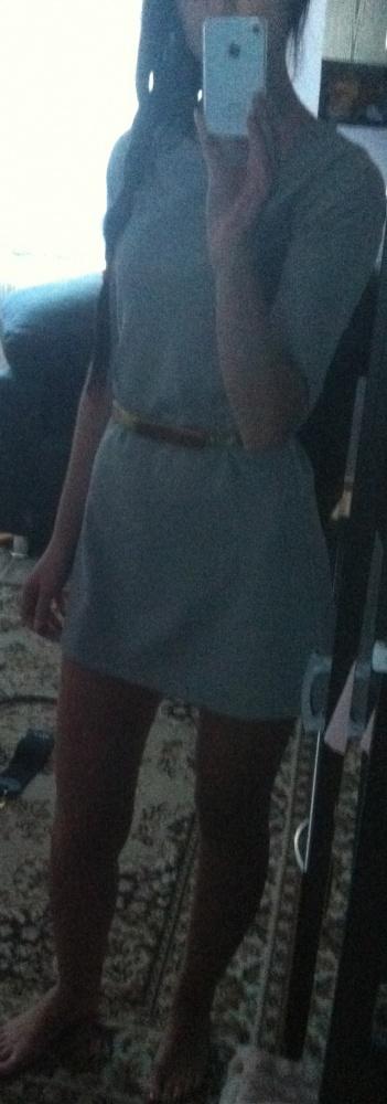 Eleganckie trapezowa sukienka