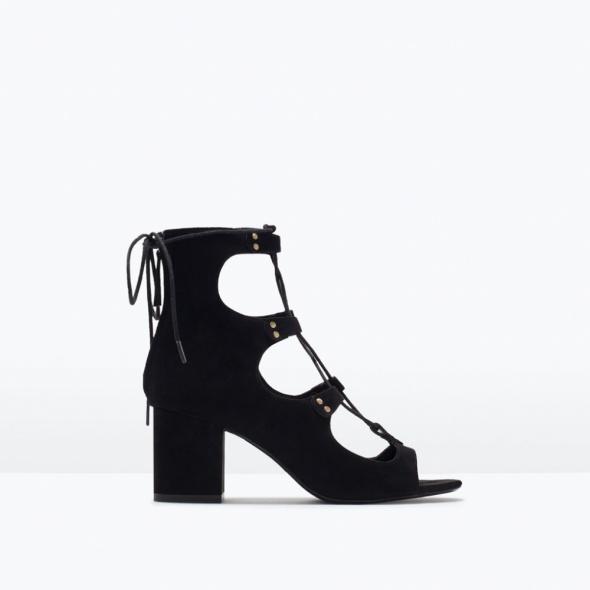 Sandały sznurowane Zara...