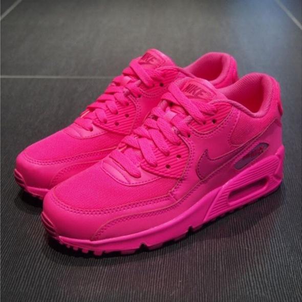 najwyższa jakość Los Angeles profesjonalna sprzedaż Nike Air Max 90 neon różowe 36 37 38 39 40 w Sportowe - Szafa.pl