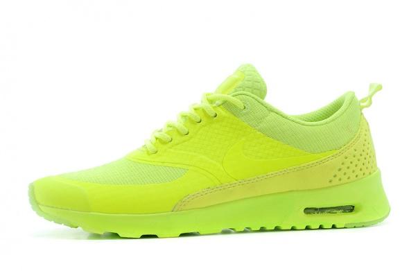 Nike Air Max Thea jaskrawe żółte neon 36 do 40 w Sportowe