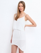 biała letnia sukienka...