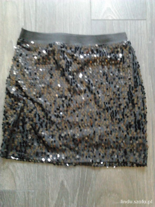 Spódnice spódniczka mini cekinki
