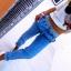 Jeans łączony z dresikiem