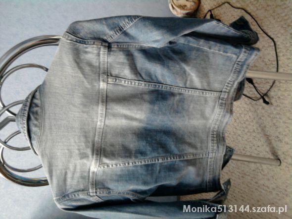 Marynarki i żakiety jeansowa kurteczka