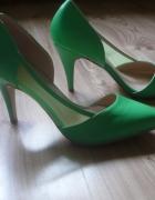 zielone czółenka