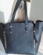 czarna torba Mohito A4