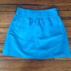 niebieska rozkloszowana spódniczka Zara 36