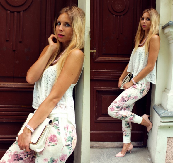 Blogerek Baggy kwiaty