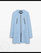 Płaszczyk baby blue Zara...