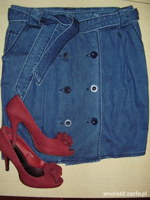 Spódnice Niebieska jeansowa spódnica